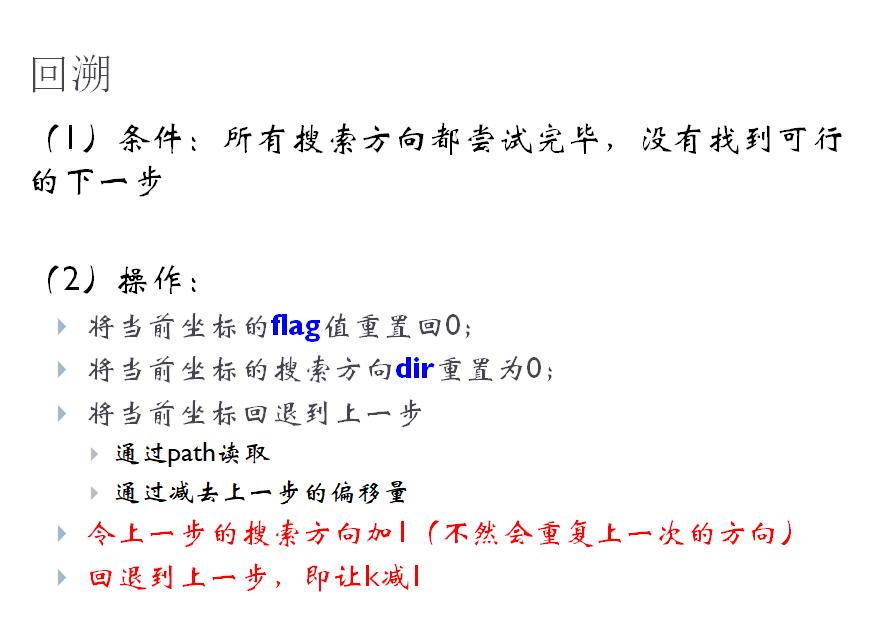 [回溯法] 迷宫问题-7gugu's Blog